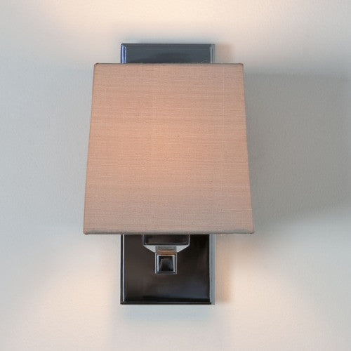 Lambro 220 Nickel Wall Light (shade not inc.)