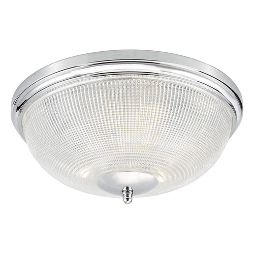 Arbor 3 Light Flush Polished Chrome IP44