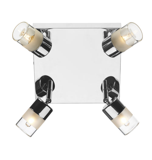 Artemis 4 Light Plate Polished Chrome IP44