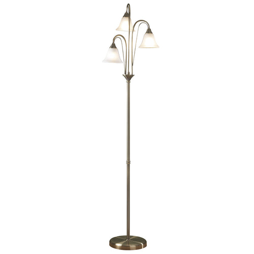 Boston Floor Lamp Antique complete with Glass