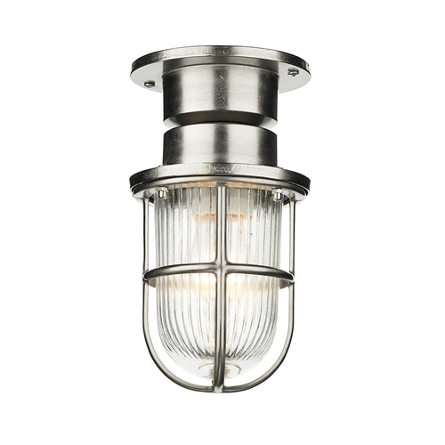 David Hunt Coast 1lt Ceiling Light Nickel