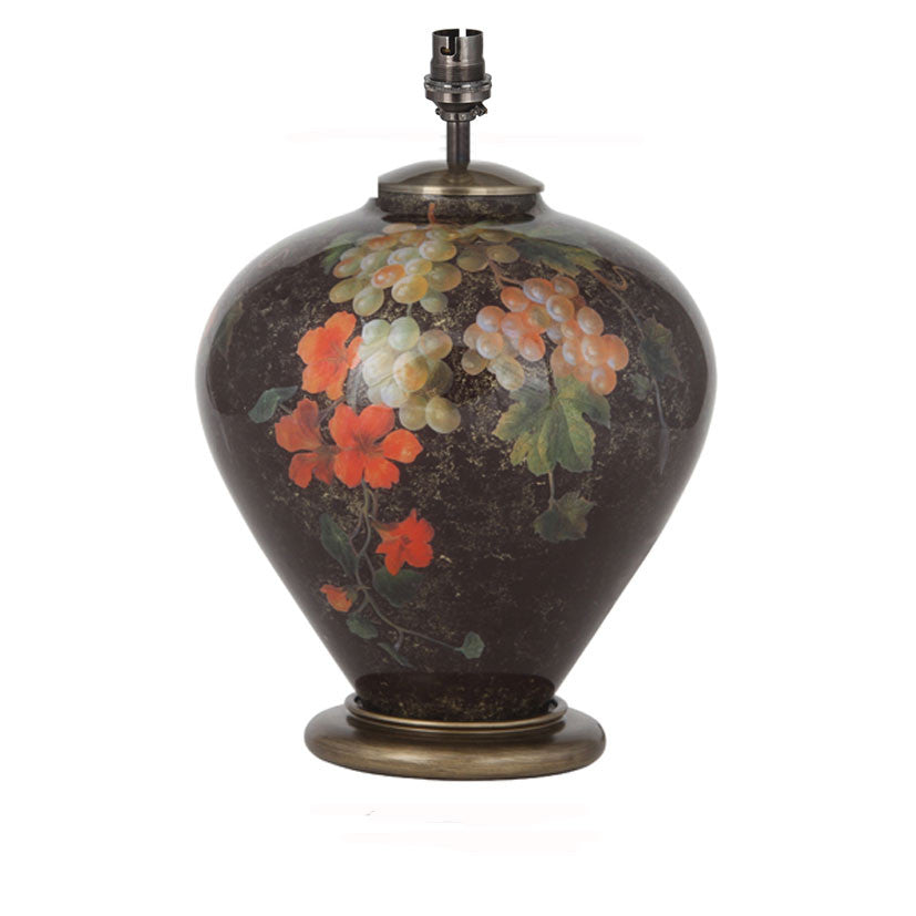 Fruit & Flower Ginger Jar Base Only