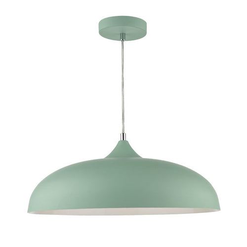 Kaelan 1 Light Pendant Light Green