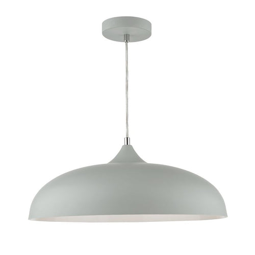 Kaelan 1 Light Pendant Light Grey