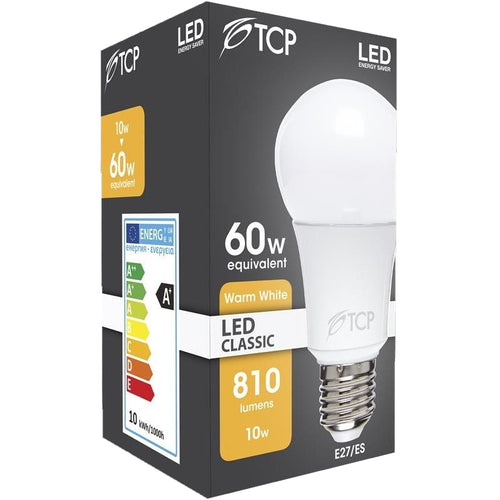 TCP 10w Opal LED GLS (Non-Dimmable)