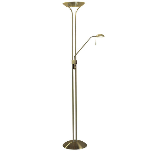 Montana Floor Lamp Antique Brass