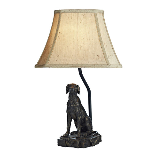 Rover Table Lamp Bronze complete with Shade