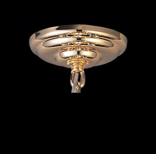 Ceiling Plate & Bracket Gold