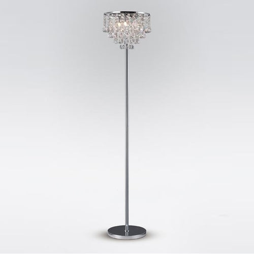 Atla Floor Lamp Chrome
