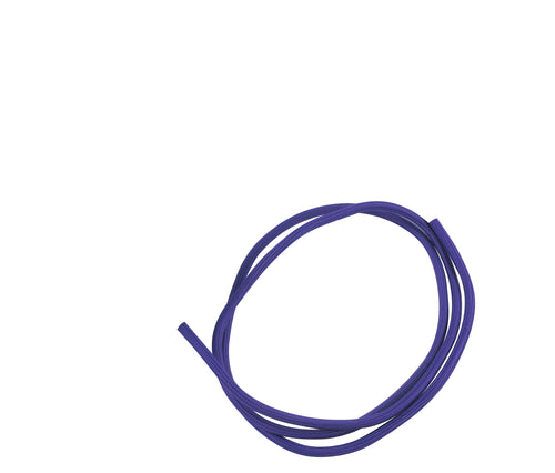 Cavo 1M Purple Braided 2 Core 0.75mm Cable