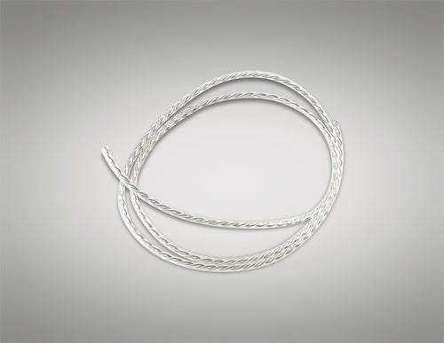 Cavo 1M Clear Twisted 2 Core 0.75mm Cable