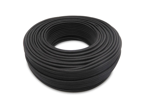 Cavo 1M Black Braided 3 Core 0.75mm Cable