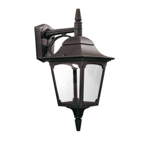 Chapel Down Wall Lantern Black