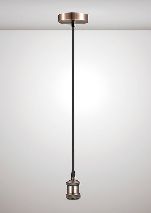Dreifa 1.5M Suspension Kit Single Light Antique Copper