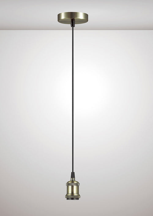 Dreifa 1.5M Suspension Kit Single Light Antique Brass