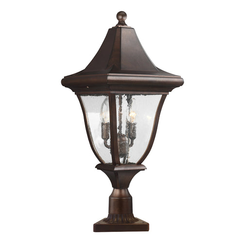 Oakmont Medium Post Lantern Bronze