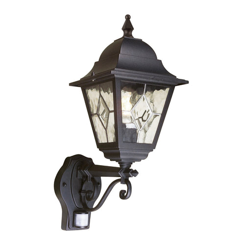 Norfolk Up Wall Lantern With PIR