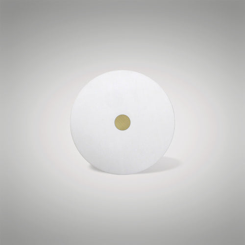 Universal 300mm Frosted Acrylic Diffuser Antique Brass