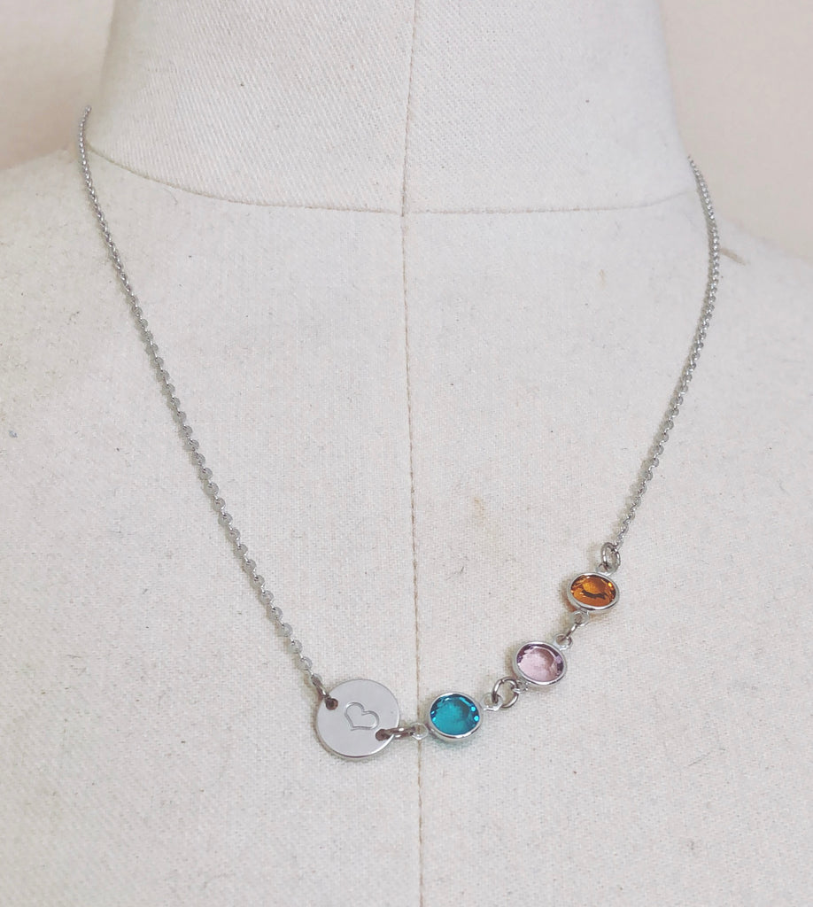 Colors of My Heart Necklace