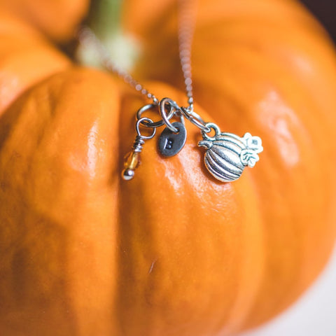 Pumpkin Patch Dainty Necklace - Shop Kindred Together