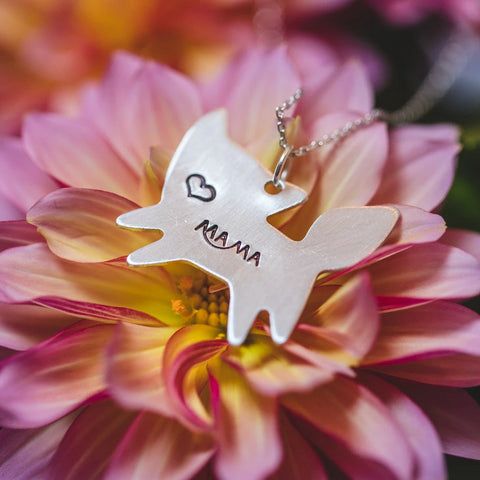 Mama Fox Necklace - Shop Kindred Together
