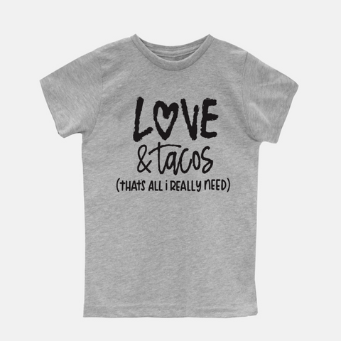 Love and Tacos Youth Tee