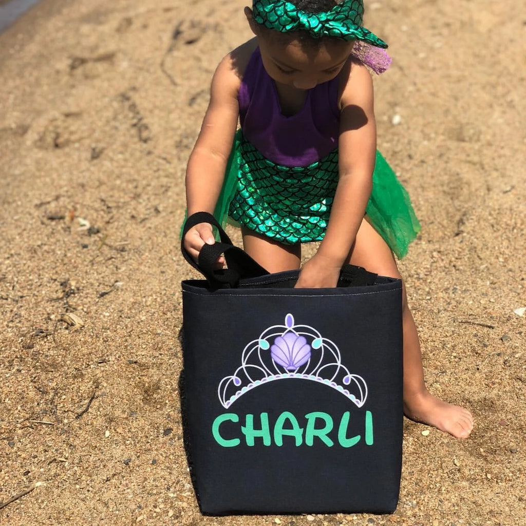 Mermaid Princess Personalized Tote