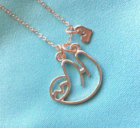 Personalized Sloth Necklace - Shop Kindred Together