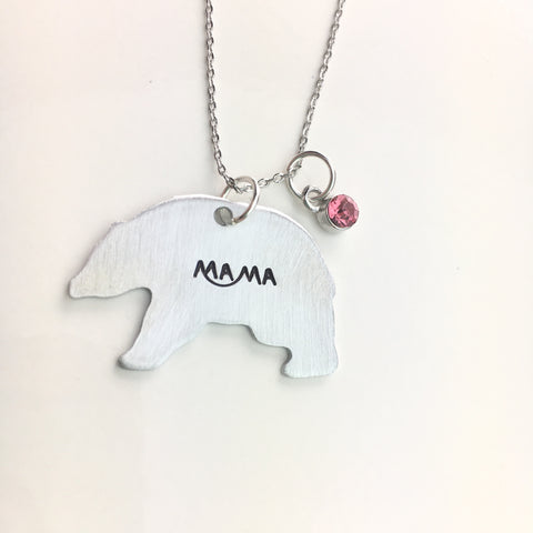 Mama Bear Necklace - Shop Kindred Together
