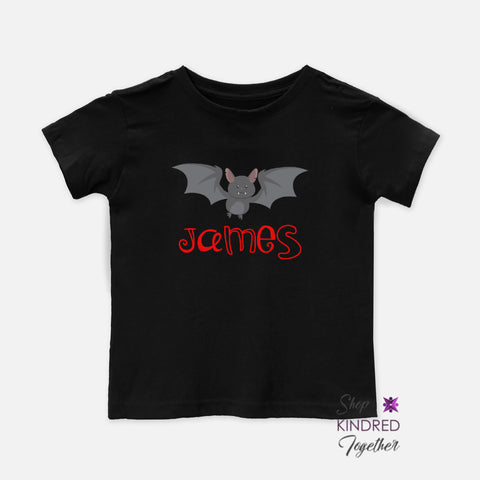Batty Personalized Toddler Tee