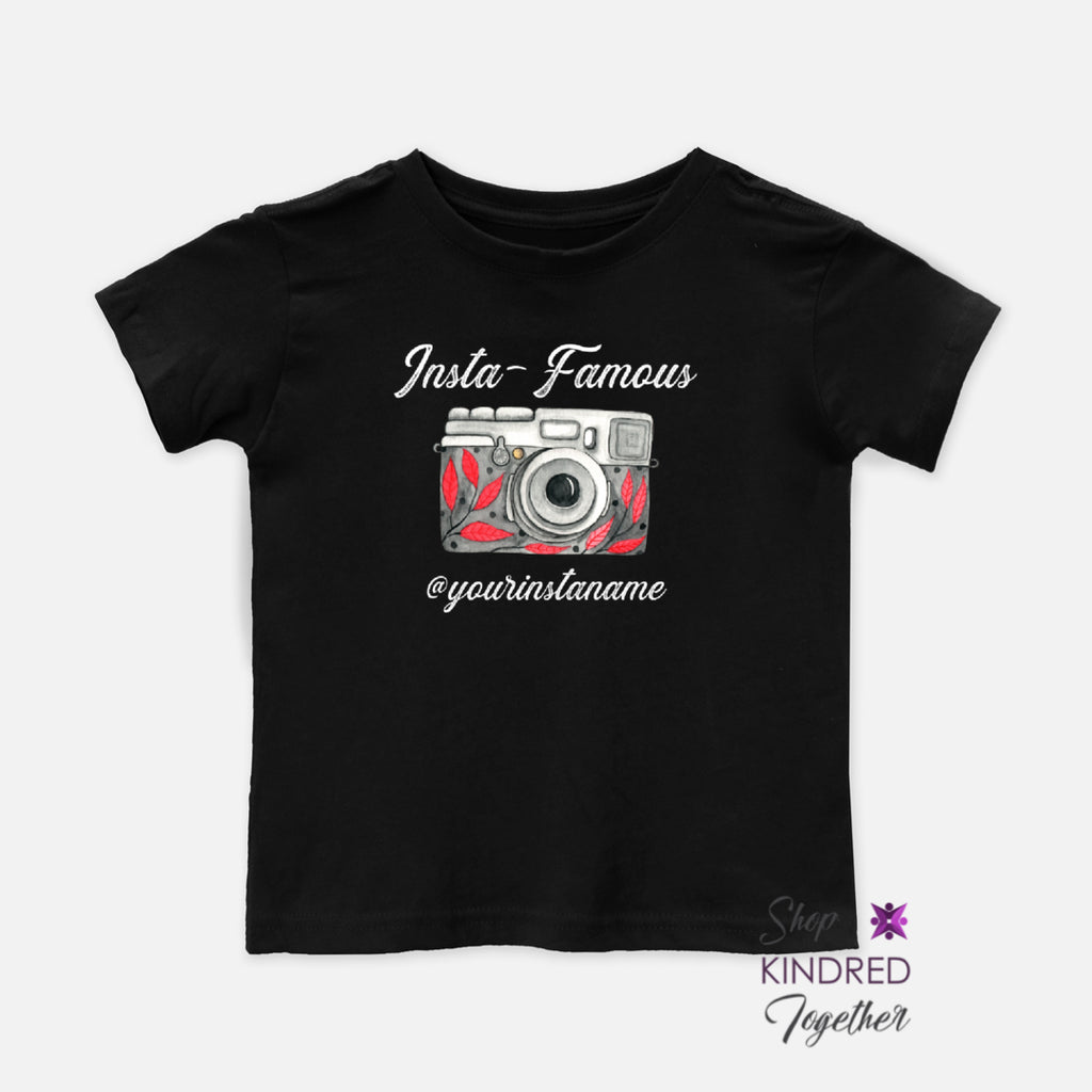 Insta-Famous Toddler Tee