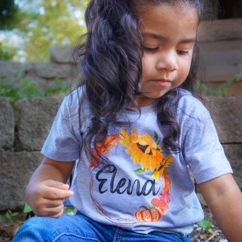 Fall Wreath Toddler Tee