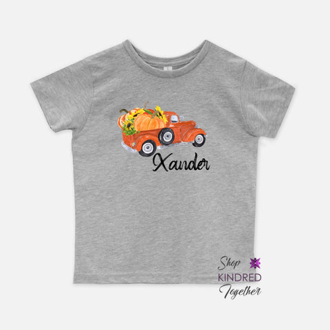 Fall Truck Toddler Tee