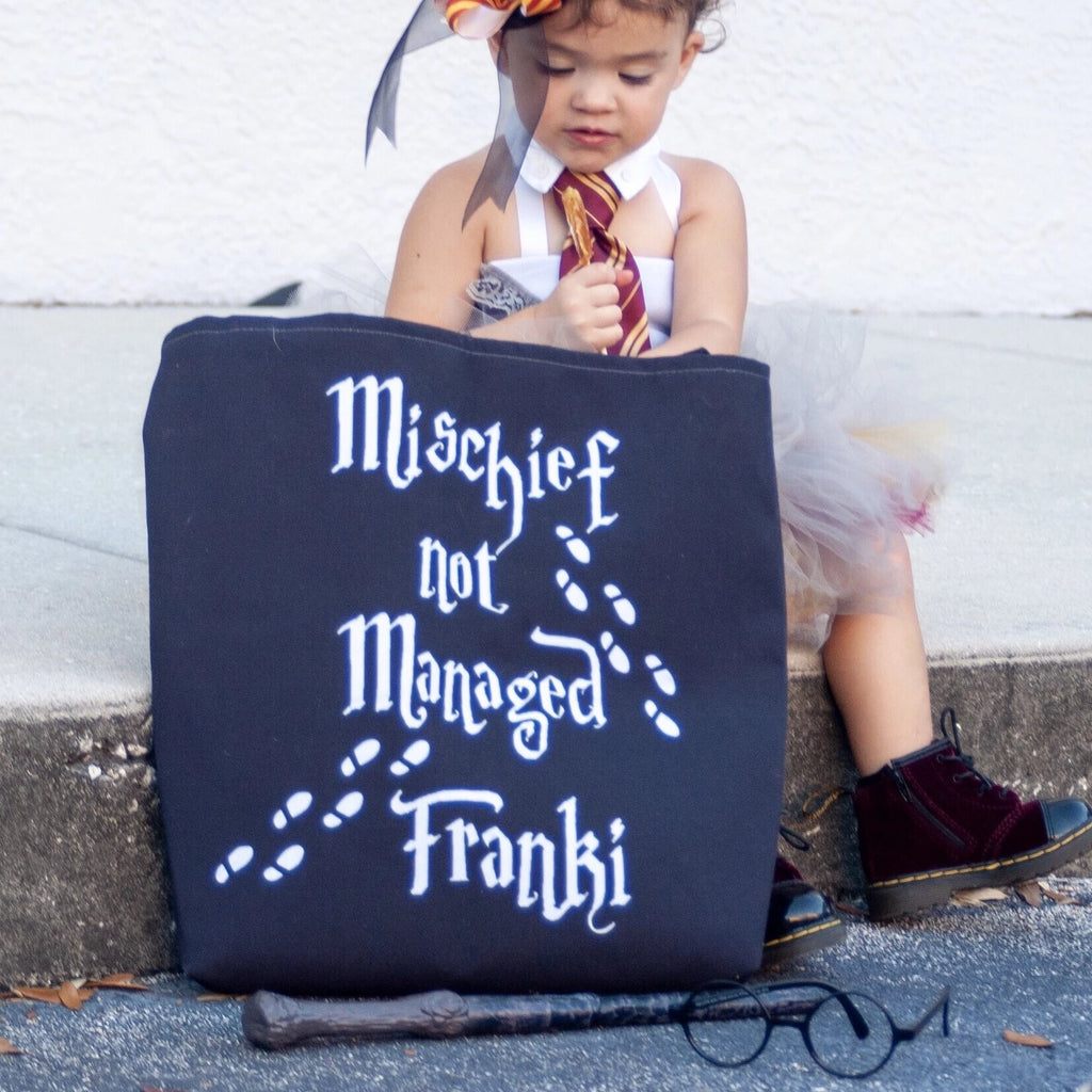 Mischief Not Managed Personalized Bag