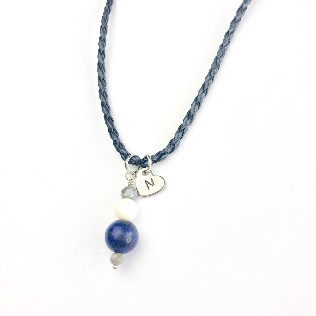 Crisp Navy Children's Necklace - Shop Kindred Together