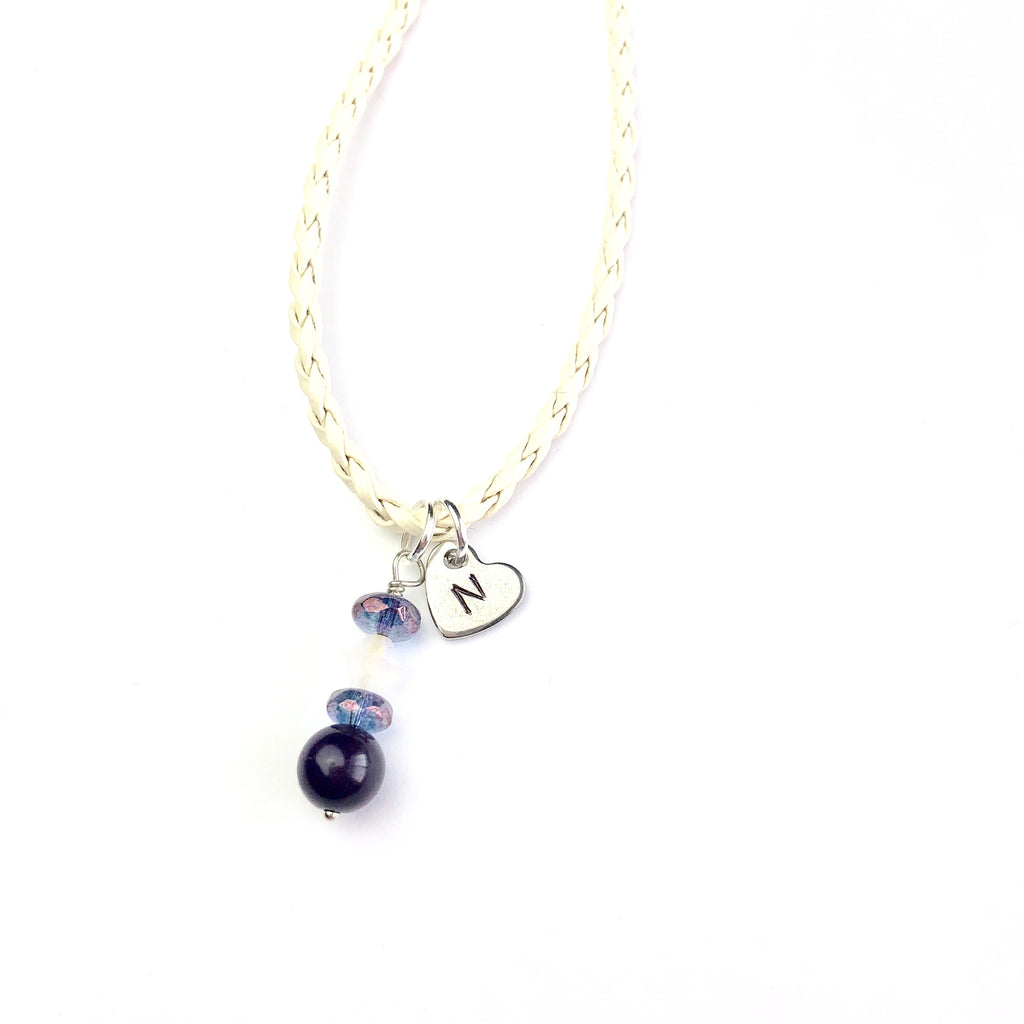 Frosted Plum Children's Necklace - Shop Kindred Together