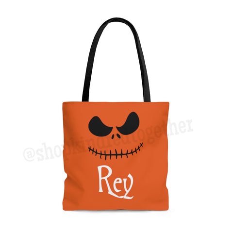 Pumpkin King Personalized Bag