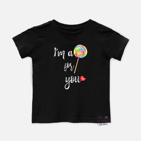 Sucker For You Toddler Tee