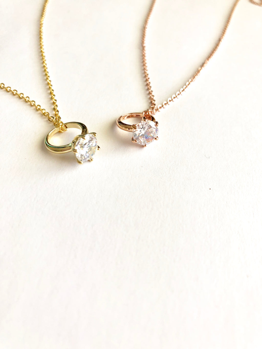 Diamond Dainty Necklace - Shop Kindred Together