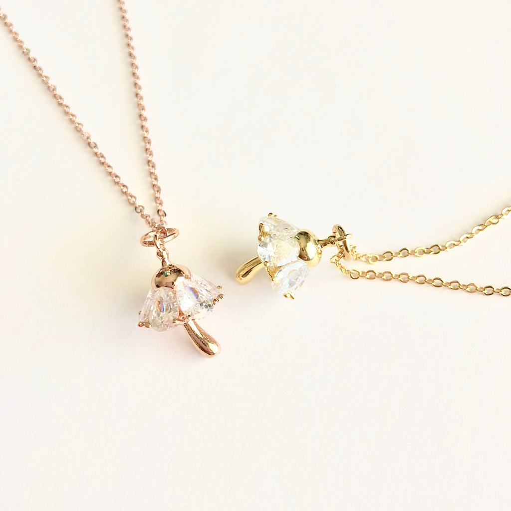 Mushroom Dainty Necklace - Shop Kindred Together
