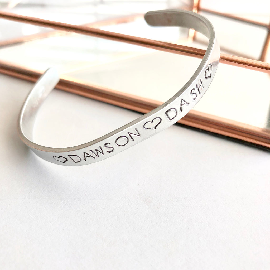 Personalized Cuff Bracelet - Shop Kindred Together