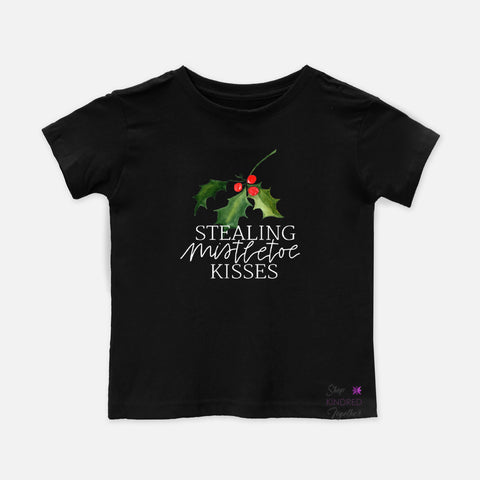 Stealing Mistletoe Kisses Toddler Tee