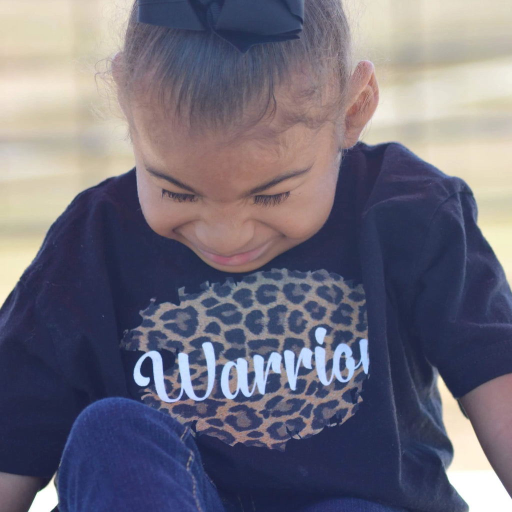 Leopard Personalized Toddler Tee