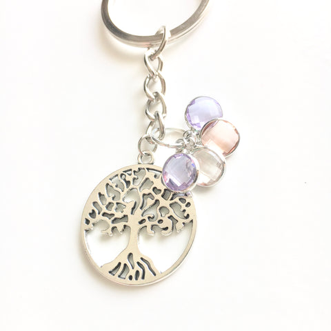 Family Tree Personalized Keychain - Shop Kindred Together