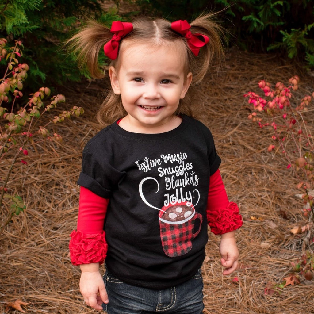 Holiday Cocoa Toddler Tee