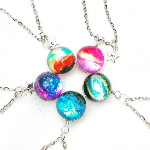 Galaxy Layering Necklace