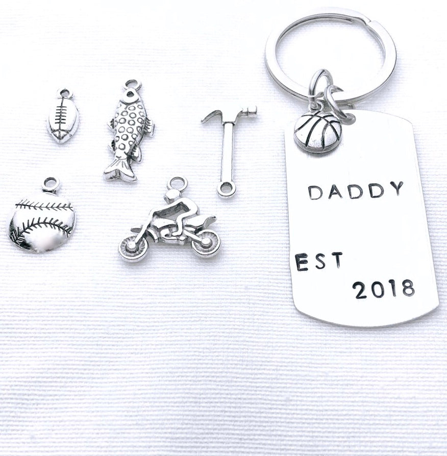 Father Personalized Keychain - Shop Kindred Together