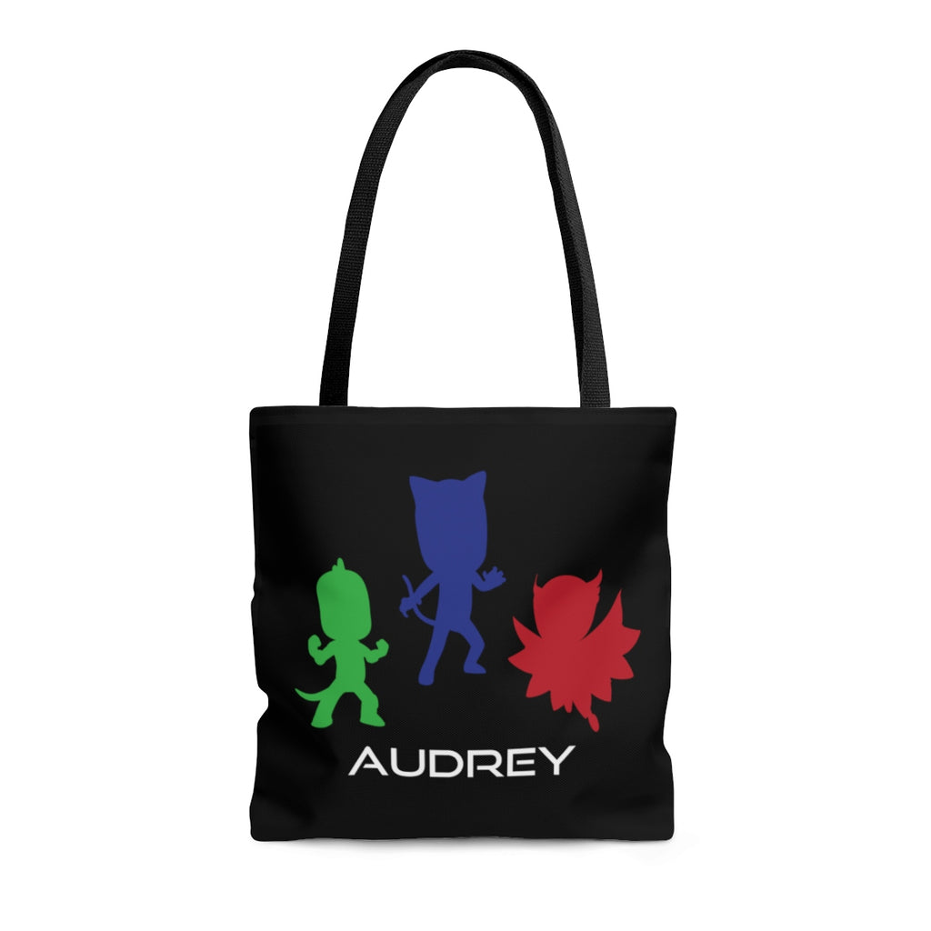 PJ Masks Inspired Tote Personalized - Shop Kindred Together