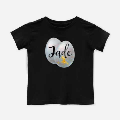Steel Blue Egg Personalized Toddler Tee