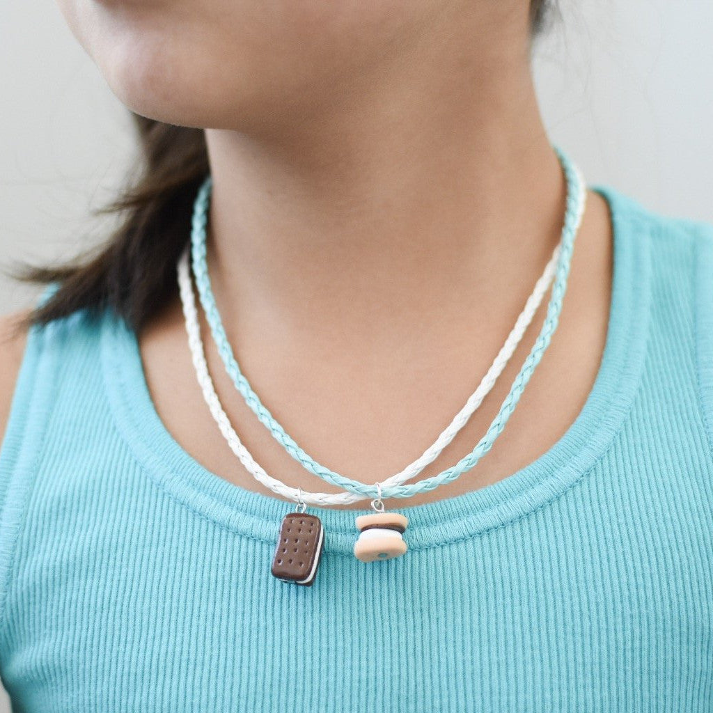 Ice Cream Sandwich Children's Necklace - Shop Kindred Together